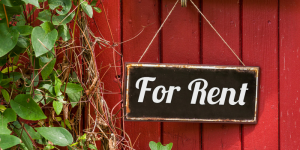 Rent a property for the first time